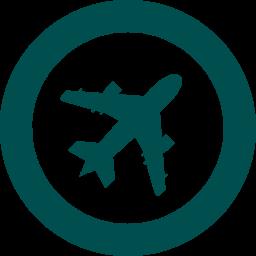 飛行機ロゴ